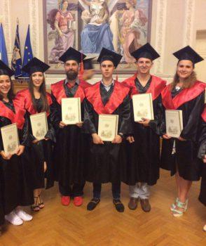 Вручення дипломів випускникам освітньо-кваліфікаційного ступеня магістр у 2017 році