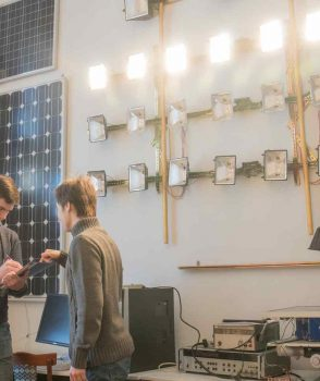 Лабораторія фотовольтаіки та цифрової електроніки