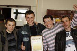 Перший чемпіонат кафедри НАЕПС з інтелектуальних ігор