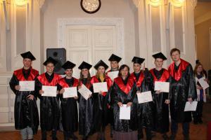 Вручення дипломів магістрів 2019
